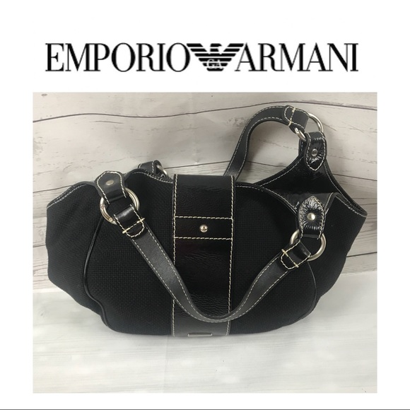 Emporio Armani Bags   Fabric Handbag   Poshmark 0481bca21e